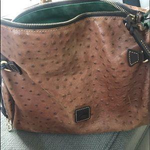 Dooney bourke ostrich purse
